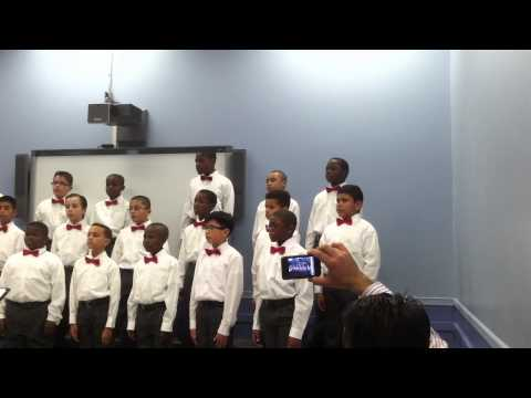 Newark Boys Chorus School: Apprentice Chorus - December `12 dress rehearsal  part 3