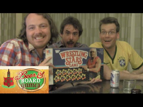 Drunk WWF Wrestling - Wheezy Waiter, Joe Bereta, John Green (Beer and Board Games)