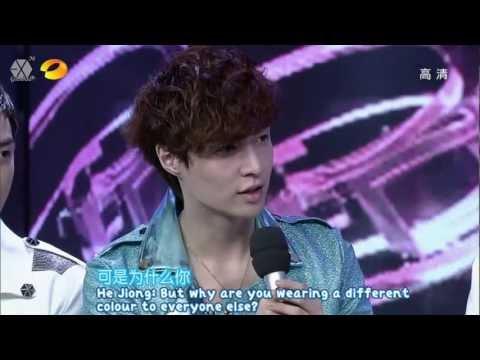 [HD/CUT/ENG] 120721 EXO Happy Camp 15th Anniversary Celebration 快乐大本营15周年