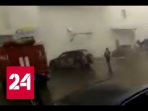 Люди кричали и бежали: свидетели рассказали об ужасе в горящей Зимней вишне - Россия 24