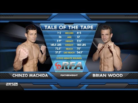 Fight of the Week The Flying Knee Heard Round the World  Chinzo Machida vs Brian Wood RFA 11