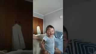 Lucas singing