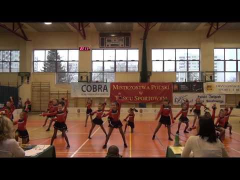 Klub Sportowy Aster, Mistrzostwa Polski Formacja Disco Dance Dzieci