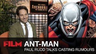 Paul Rudd responde si será ANT-MAN