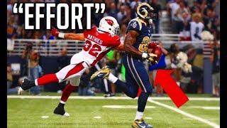 NFL Best Effort Plays || HD