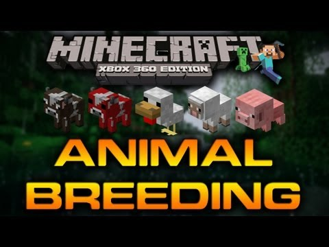 Minecraft (Xbox 360): ANIMAL BREEDING GUIDE (1.0.1 HOW-TO) [TU7]