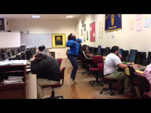 Brinkley High School Arkansas - Harlem Shake - Mrs. Comer's Room