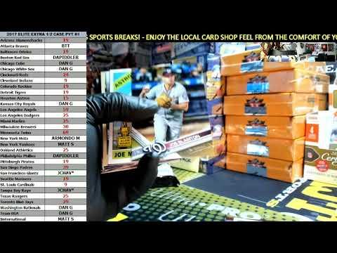 2017 Topps Update Series Baseball Jumbo 1 Box Personal Break For Matt S