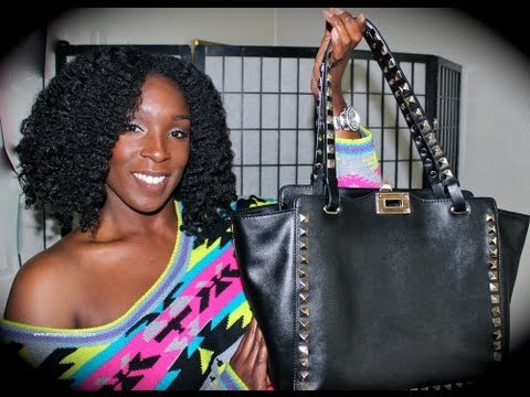 GIVEAWAY & REVIEW   Baginc RockStars Calfskin Leather Bag