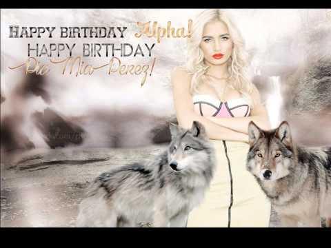 Happy 19th Birthday Pia Mia from Russia & CIS!