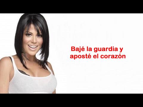 Alejandra Guzmán - MI PEOR ERROR (LETRA 2013)