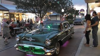 Muscle car cruise, Tex Mex and funky music at Old Town Kissimmee