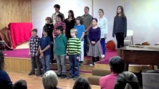 I am a Poor Wayfaring Stranger City School Choir