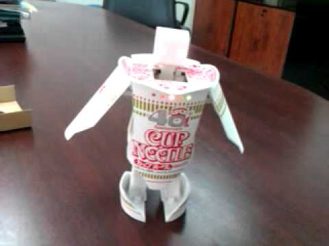 Cup O' Noodles Robot, Sup Now?