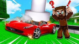 FAKİR'in ARABASI PARÇALANDI!😱 - Minecraft