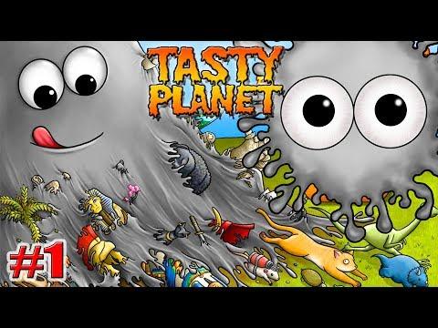 СИМУЛЯТОР ПОЕДАНИЯ МИРА! Tasty Planet НАЧАЛО! Прохождение на русском 1 серия