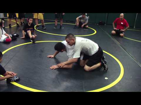 Angel Cejudo Bottom Hand Control Folkstyle Wrestling