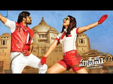 Supreme Video Song Promos - Andam Hindolam Song - Sai Dharam Tej, Rashi Khanna