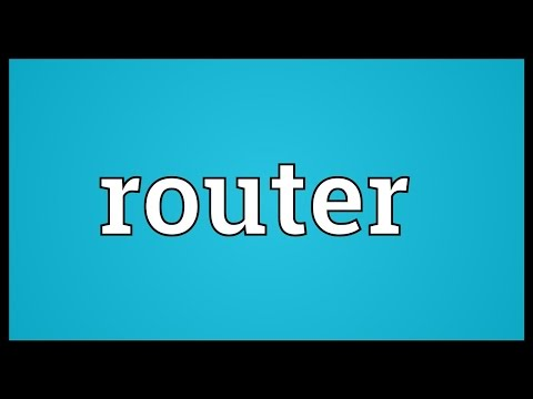 Router Meaning