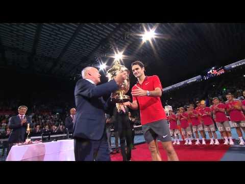Moët Moments Federer Wins Basel