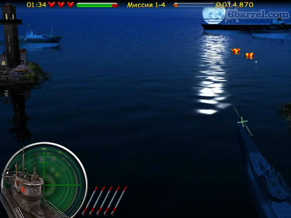 Игра Морской бой. Подводная война (режим карьеры) ingush-portal.ru igra-mo