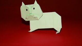 How To Make An Origami Hippo - Kirigami