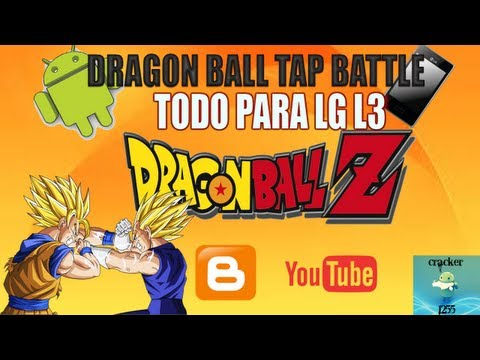 DRAGON BALL TAP BATTLE PARA LG OPTIMUS L3