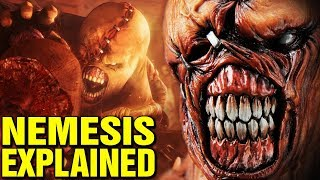 NEMESIS EXPLAINED - TYRANT ORIGINS - RESIDENT EVIL HISTORY AND LORE