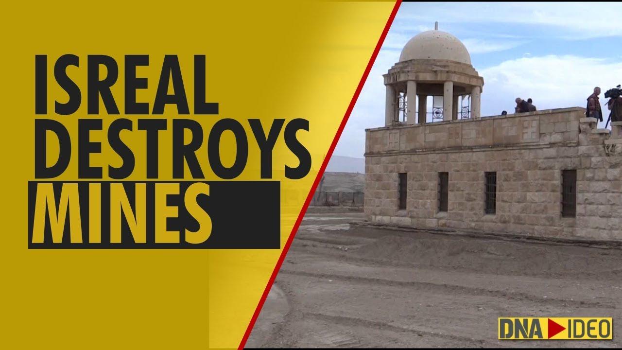Israel clears Qasr al Yahud baptism site of mines