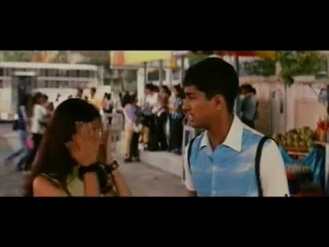 Boys Movie Scenes || Siddharth Nude Walk in Traffic to Prove Love Towards Genelia