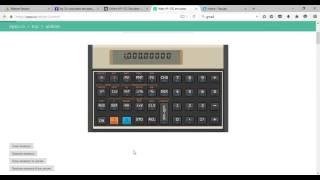 HP12C Financial Calculator Use
