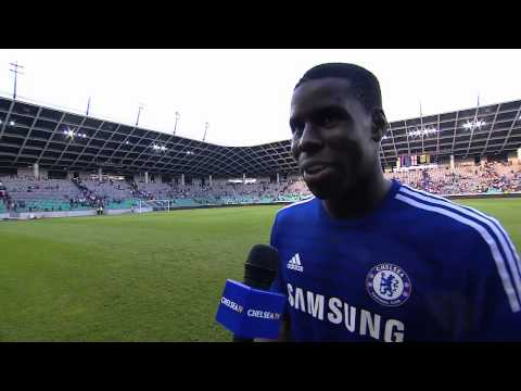 Reaction: Zouma on Olimpija