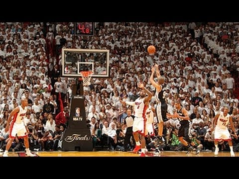 Tony Parker's BIG step-back three pointer in Game 6!