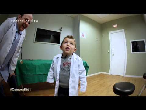 Camera Kidz El paciente tiene un pollito en el estómago