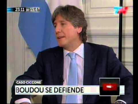 Amado Boudou en TN - Parte 1 - #BoudouEnTN