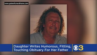 Daughter Writes Humorous Obituary For Father In Indiana