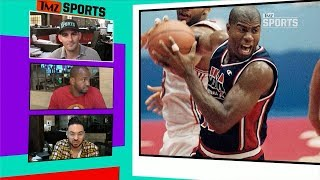 Magic Johnson Dream Team Jersey Hits Auction Block, Could Fetch Over $150k | TMZ Sports