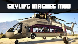 WORKING SKYLIFT MAGNET MOD (Pick up Trams, Trains & Cars) | GTA 5 PC Mods