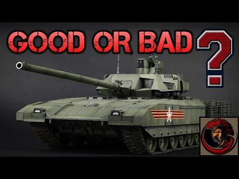 T-14 Armata Main Battle Tank - Good Or Bad Tank?