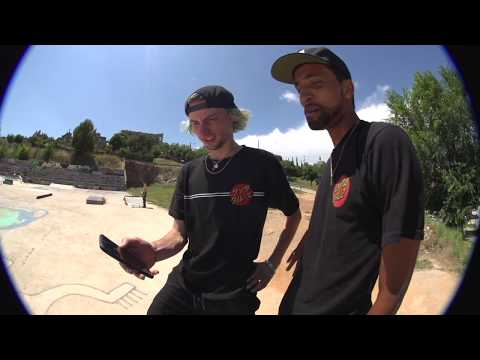 Tom Asta skates Barcelona DIY with the crew