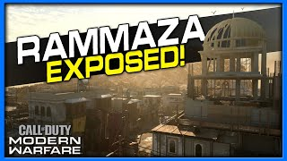 Rammaza Lines of Sight, Jump Spots and Spawns | (Modern Warfare Maps Exposed)