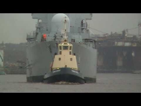 HMS Bristol - D23 Dry Docking