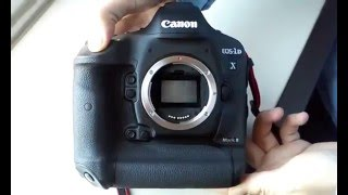 Canon 1Dx Mark II Burst Mode - Shutter Speed Sound