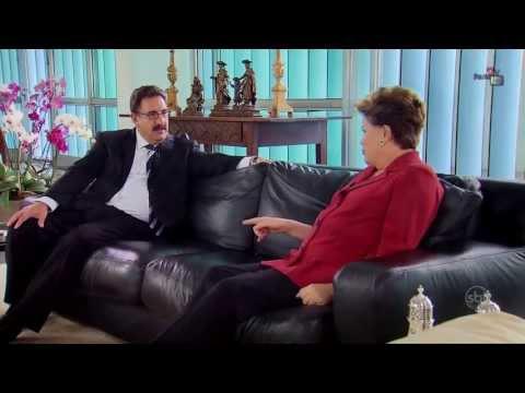 Ratinho entrevista Dilma Rousseff - Dois Dedos de Prosa - COMPLETO - 07/10/2013 HD
