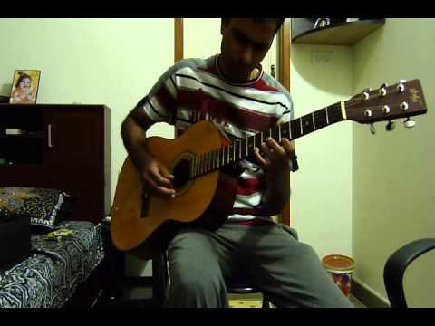 Hindi+Meri bheegi bheegi si+Kishore kumar+acoustic+guitar+Cover...