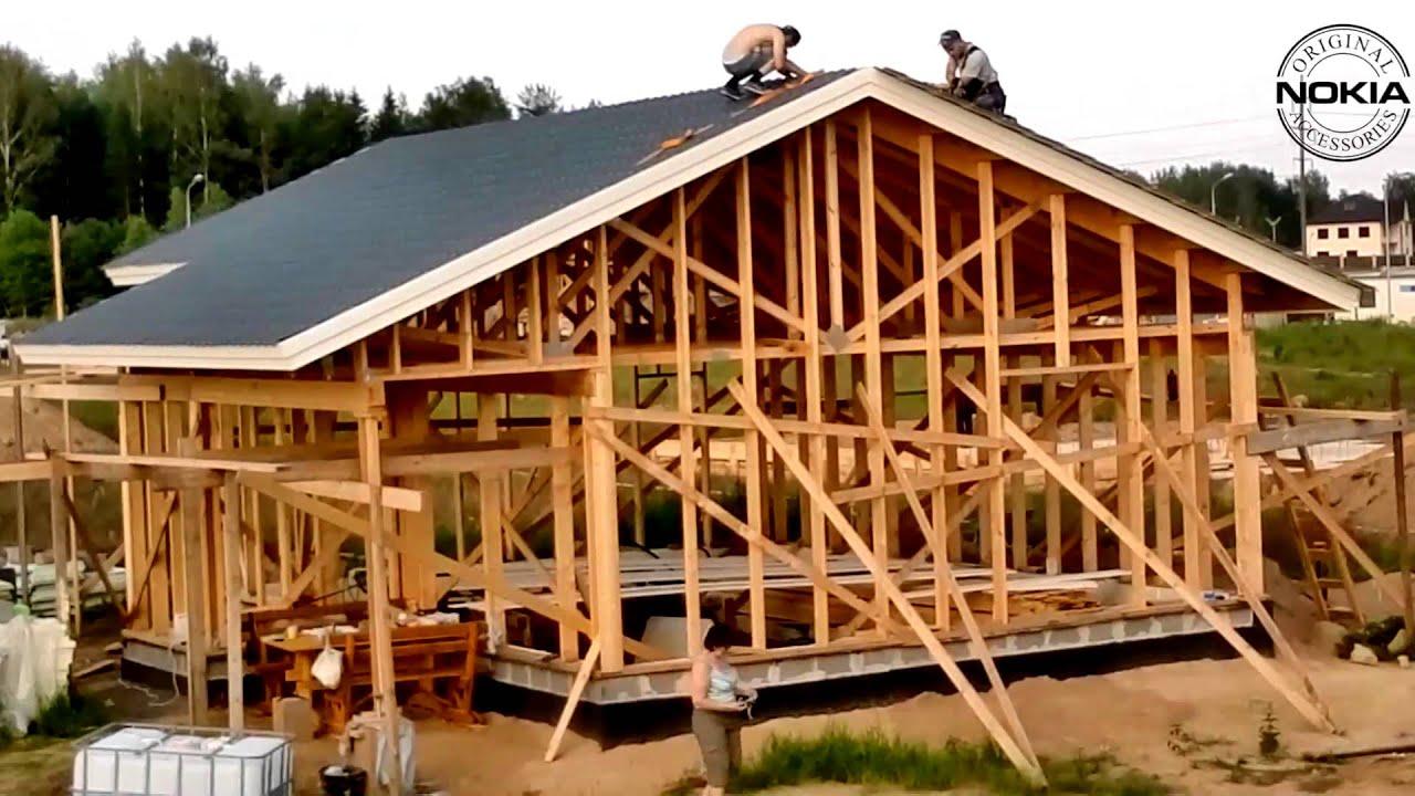 Как своими силами сделать на дом крышу