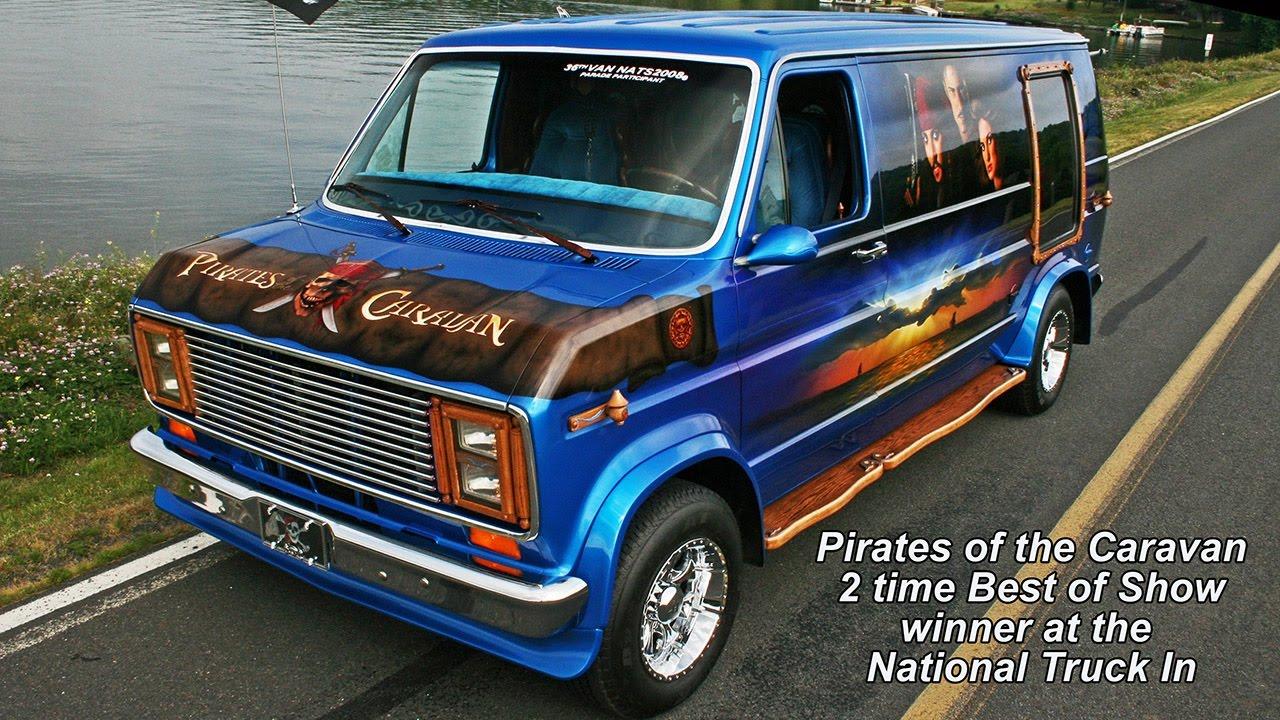 pirates of the caravan custom ford van youtube. Black Bedroom Furniture Sets. Home Design Ideas