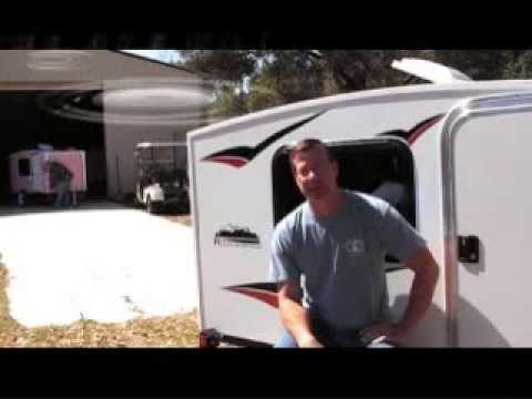 Runaway 4x8 Mini Camper Camping Trailer $2.495 Affordable Teardrop Alternative