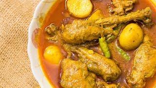 আলু দিয়ে দেশি মুরগি | Deshi Murgi Ranna | Bangladeshi Chicken Curry with Potato