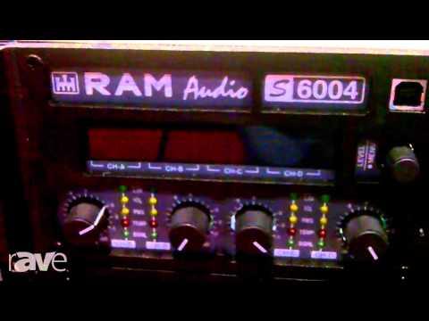 InfoComm 2013: RAM Audio T Series Power Amplifiers